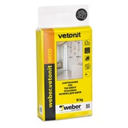 Saumalaasti weber.vetonit Deco 15 kg medium grey