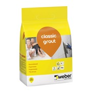 Saumalaasti weber classic grout 3 kg 13silver grey