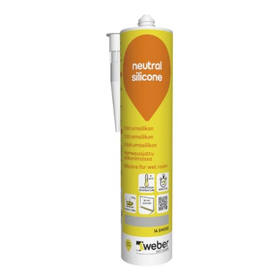 Silikoni weber neutral silicone 310 ml 14 smoke