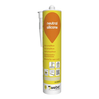 Silikoni weber neutral silicone 310 ml 31 cream