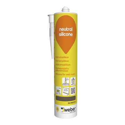 Silikoni weber neutral silicone 310 ml 36 mocca