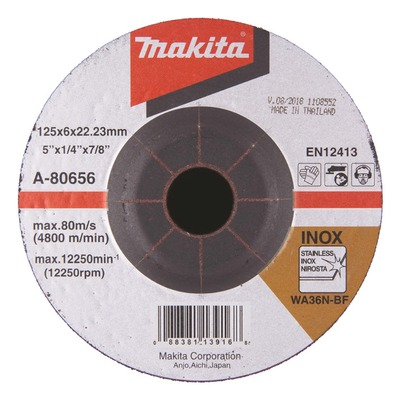 Hiomalaikka A-80656 125x6,0 mm metalli