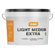 Kevyttasoite RAW Light Medium Extra 10 l