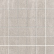 Lattialaatta Unit Four 5x5 cm light grey matt R10/B