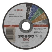 Katkaisulaikka Bosch 1x125 mm Rapido MultiConstruction