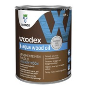 Puuöljy Woodex Aqua Wood Oil 0,9 l harmaa