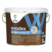 Puuöljy Woodex Aqua Wood Oil 2,7 l harmaa