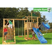 Leikkitorni Jungle Gym® Hut+Climb