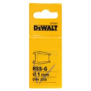 Metallipora DeWalt HSS-G 1,0 mm 2 kpl