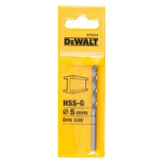 Metallipora DeWalt HSS-G 5,0 mm